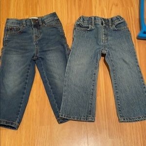 2 pair of 2T jeans